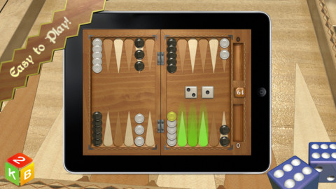 Игра Backgammon Masters на iPad