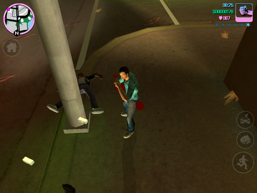 Grand Theft Auto Vice City на iOS