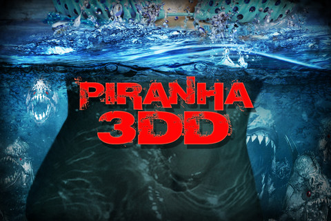 Игра на Android Piranha 3DD: The Game